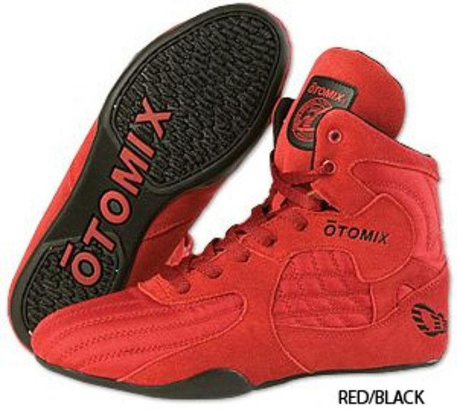 КРОССОВКИ OTOMIX STINGRAY BODYBUILDING & WRESTLING SHOES M3000 RED