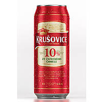 Пиво светлое Krusovice Original 10% 0.5 банка