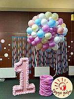 №18 Фотозона из воздушных шаров Днепр