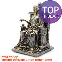 Фортуна на троне (26х15х14 см) / Интерьерные аксессуары - статуэтки