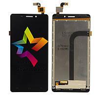 Дисплей для мобильного телефона Doogee F2 Ibiza, черный, с тачскрином (high copу)