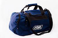 Сумка спортивная, для тренировок, дорожная, через плечо, синий