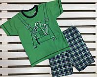 Комплектдля мальчика с шортами TARO на рост 104-110