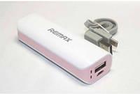 PowerBank Remax Mini White Power Box 2600mAh pink, фото 1