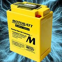 Аккумулятор мотоциклетный MOTOBATT MB12U