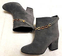 Ботинки кожаные стильные весна-осень 0412УКМ