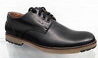 Туфли мужские кожаные  0001ТОМ