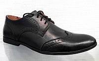 Туфли-оксфорды мужские классика кожаные 0003ТОМ