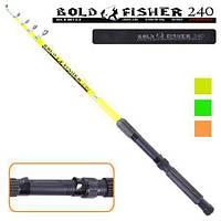 Спиннинг телескопический Bold Fisher 60-120г, 2,7 м