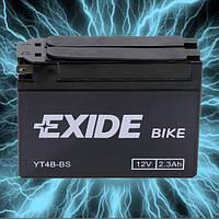 Аккумулятор мотоциклетный 2.3Ah 35A EXIDE YT4B-BS