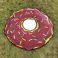 Пляжный коврик Пончик1