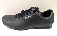 Туфли спортивные мужские кожа 0002ЛСМ