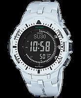 Мужские часы Casio ProTrek PRG-300-7ER Касио противоударные японские кварцевые