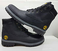 Ботинки мужские зимние нубук разные цвета 0003ТМ