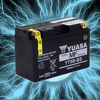 Аккумулятор мотоциклетный 8Ah 120A YUASA YT9B-BS