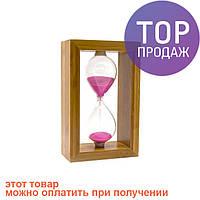 Часы песочные в бамбуке / Интерьерные песочные часы