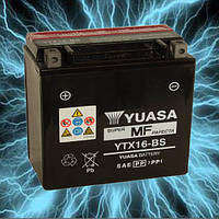Аккумулятор мотоциклетный 14Ah 230A YUASA YTX16-BS