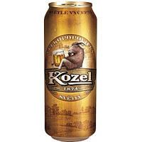 Пиво светлое Velkopopovicky Kozel 10% 0.5 банка
