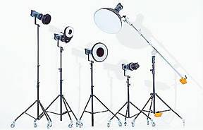Світло, освітлювачі, постійний LED світло для фотостудій