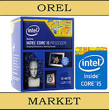 Процессор Intel Core i5-4670 BX80646I54670 Haswell