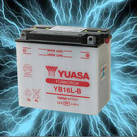 Аккумулятор мотоциклетный 19Ah 215A YUASA YB16L-B