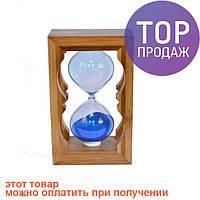 Необычный сувенир, часы песочные в бамбуке / Интерьерные песочные часы