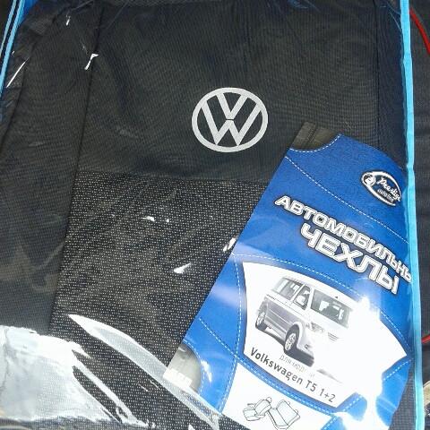 Чехлы на сиденья Volkswagen T5 (Prestige)
