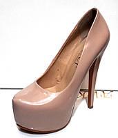 Туфли женские лаковые 0194КФМ