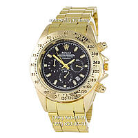 Часы Rolex Cosmograph Daytona Quartz Gold-Black