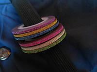 Сахарная лента для дизайна ногтей цвета в ассортименте 2 мм