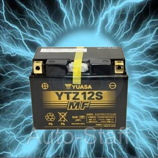 Аккумулятор мотоциклетный 11Ah 210A YUASA YTZ12S - Auto-Staff в Виннице
