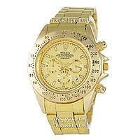 Часы Rolex Cosmograph Daytona Quartz Date All Gold