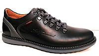 Туфли мужские кожа натуральная черные 0003БАМ