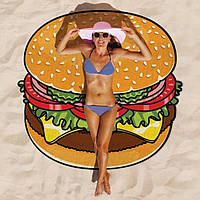 Пляжный коврик Бургер