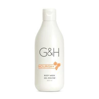 Гель для душа G&H NOURISH+™ Обогащен медом цветов апельсинового дерева, маслом ши и маслом тыквенных семечек.
