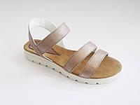 Женские летние сандалии на тракторной подошве, эко-кожа In-Trend 5610