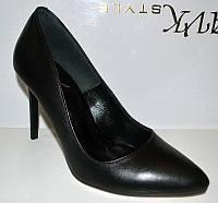 Туфли женские кожа 0080СОМ