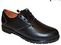 Туфли женские закрытые кожаные 0024ВМ