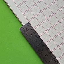 Тетрадь для написания иероглифов. Клетка 13 мм с пунктиром и полем для пиньинь. 15680 клеток