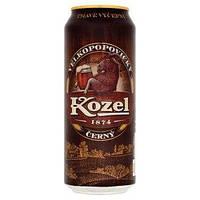 Пиво темное Velkopopovicky Kozel Cerny 0.5 банка
