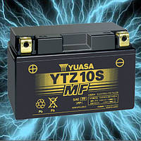 Аккумулятор мотоциклетный 9Ah 190A YUASA YTZ10S