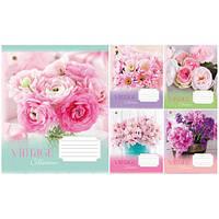 Тетрадь в клетку 36листов794750«Vintage flowers» Зошит Украины