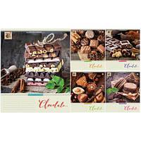 Тетрадь в клетку 96листов795028«Сhocolate» Зошит Украины