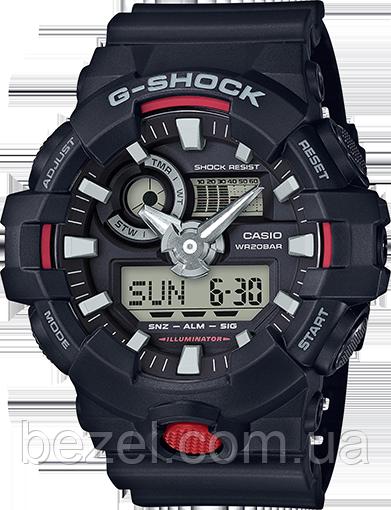Мужские часы Casio G-Shock GA-700-1AER Касио противоударные японские кварцевые
