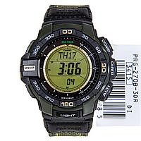 Мужские часы Casio ProTrek PRG-270B-3 Касио противоударные японские кварцевые