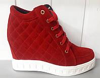 Модные сникерсы кожаные разные цвета 0004АВМ