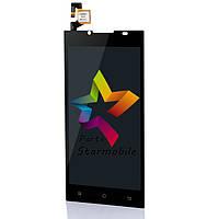 Дисплей для мобильного телефона Doogee DG2014, черный, с тачскрином