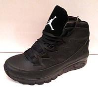 Ботинки-кроссовки мужские высокие зимние 0003ДРМ