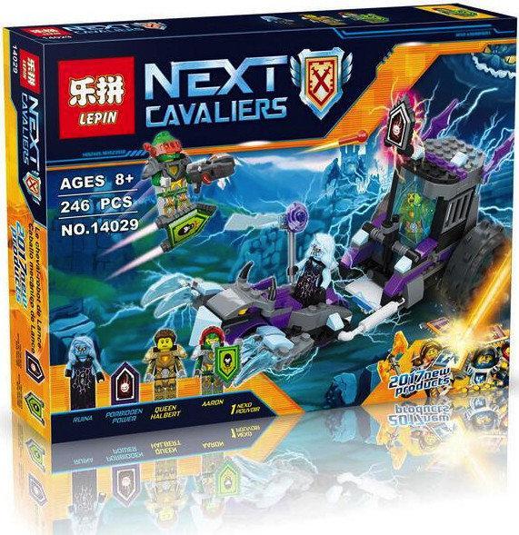 Конструктор Lepin серия Next Cavaliers 14029 Мобильная тюрьма Руины (Аналог Lego Nexo Knights 70349)