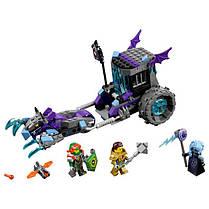 Конструктор Lepin серия Next Cavaliers 14029 Мобильная тюрьма Руины (Аналог Lego Nexo Knights 70349), фото 3
